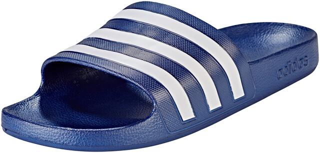 adidas Adilette Aqua Slides Heren, dark blue/ftwr white/dark blue